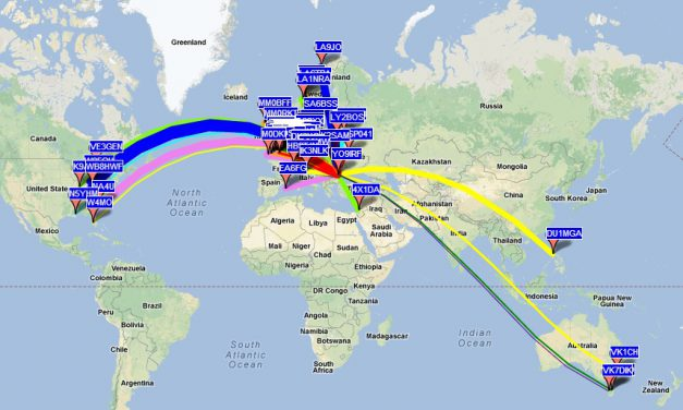 WSPR and antenna radiation pattern