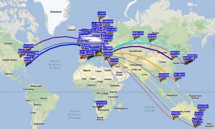 V53ARC – multiband WSPR beacon in Namibia