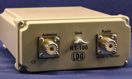 LDG RT-100 – new 100W remote tuner