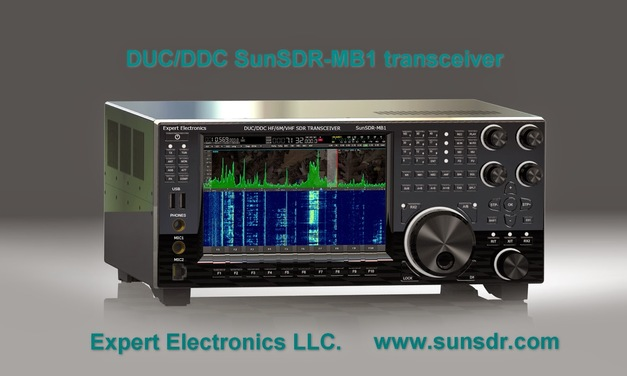 SunSDR-MB1 – finally a proper modern transceiver