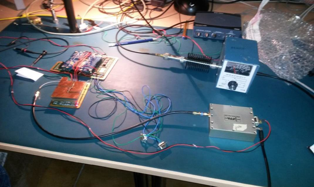 An amateur radio beacon will fly to the moon and back