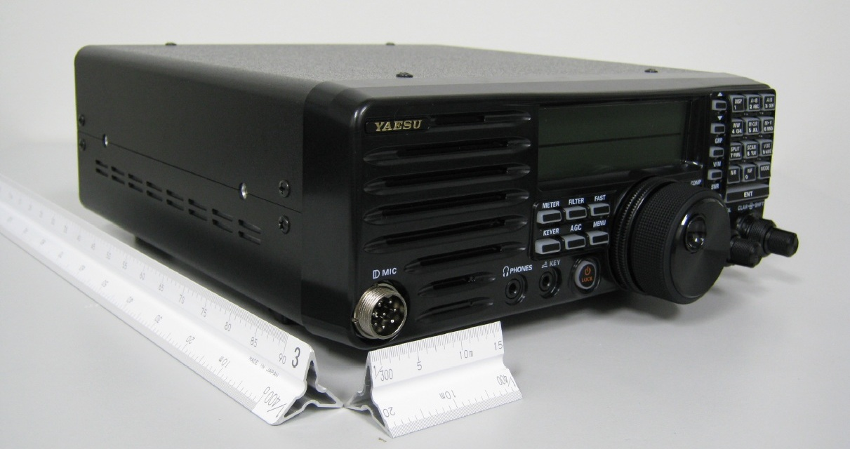 Yaesu's new HF radio, FT-410