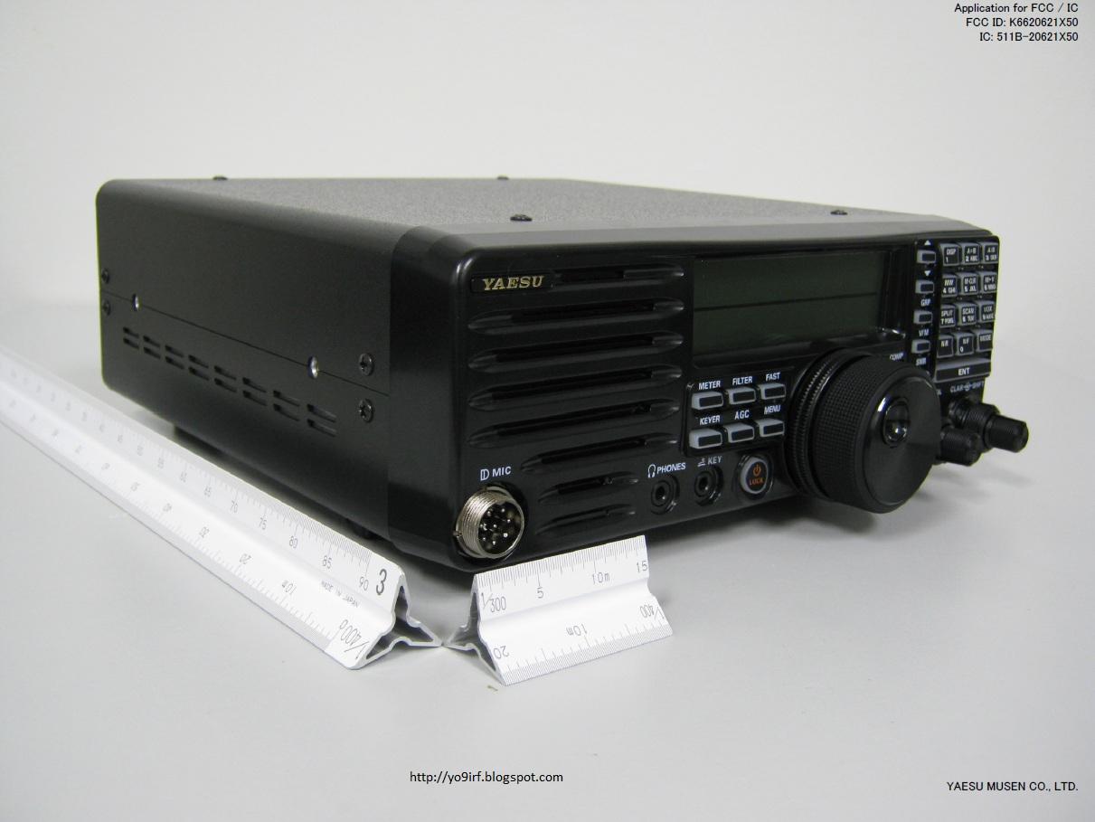 Yaesu\'s new HF radio, FT-410 | QRPblog