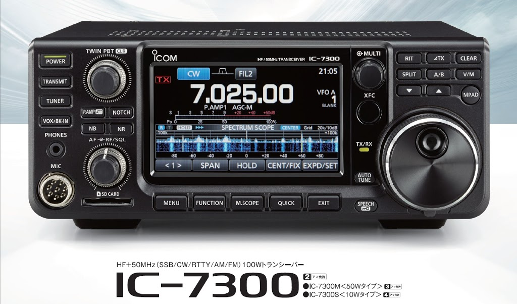 Icom IC-7300 review | QRPblog