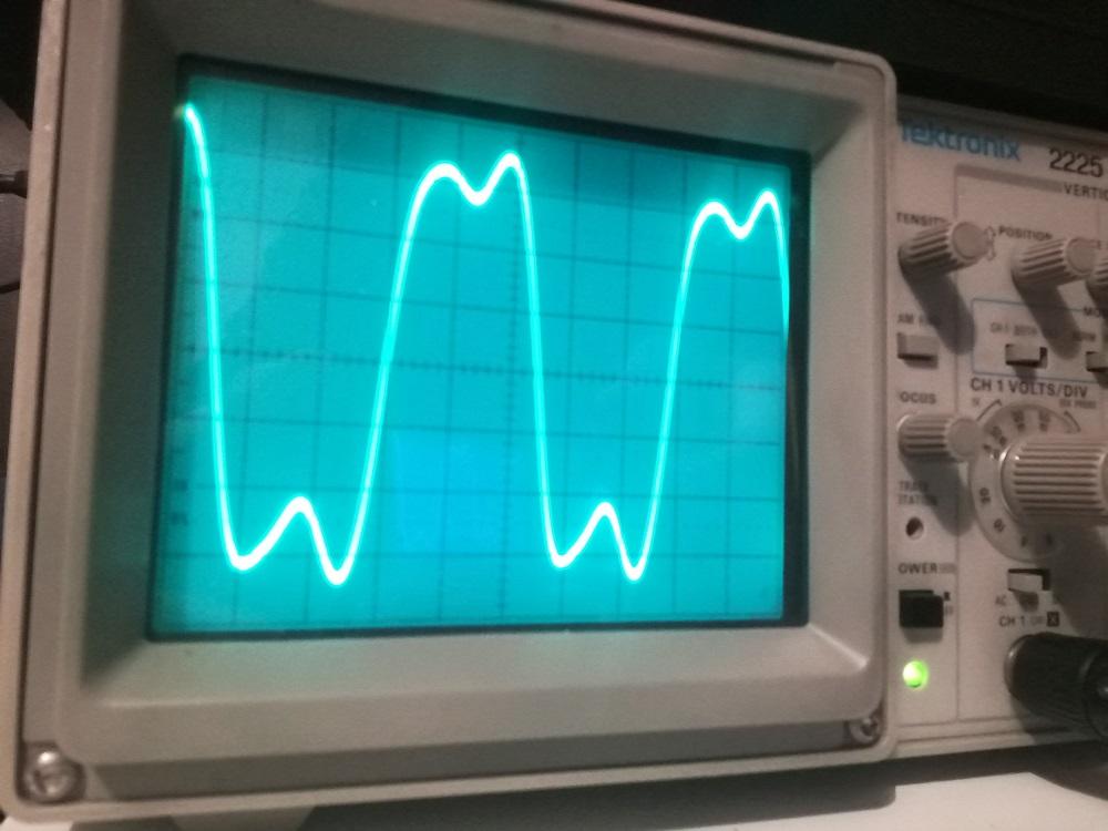Si5351 output waveforms | QRPblog