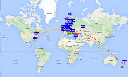 Testing the Ultimate 3 WSPR beacon