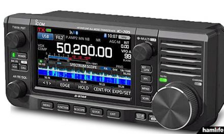 Icom IC-705 coming in April 2020, price announced