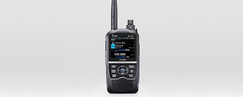 Icom ID-52 VHF/UHF D-Star Handheld Announced